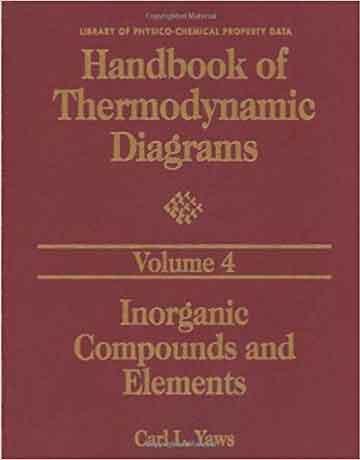 هندبوک دیاگرام های ترمودینامیک جلد 1: ترکیبات آلی C1 to C4