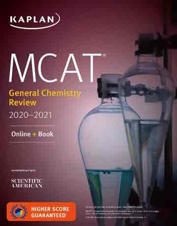 کتاب شیمی عمومی MCAT General Chemistry Review 2020-2021