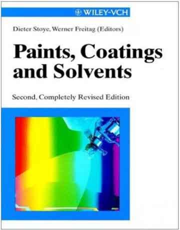 کتاب رنگ ها، پوشش دهنده ها و حلال ها ویرایش دوم