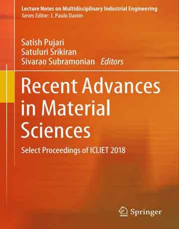 پیشرفت های اخیر در علوم مواد: مقالات منتخب ICLIET 2018