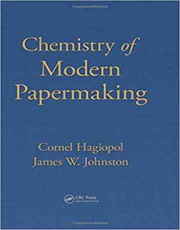 کتاب شیمی تولید و ساخت کاغذ مدرن