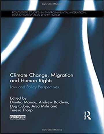 تغییرات آب و هوایی، مهاجرت و حقوق بشر