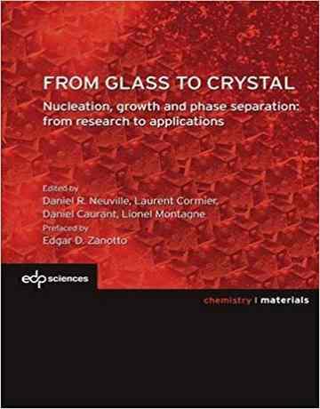 کتاب از شیشه تا کریستال: هسته زایی، رشد و جداسازی فازی