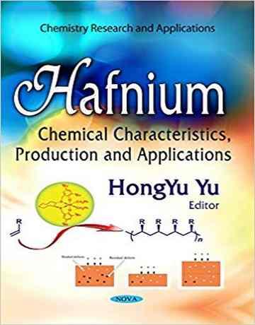 عنصر هافنیوم: خواص شیمیایی، تولید و کاربردها