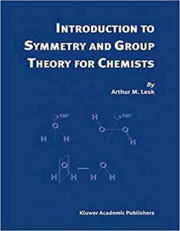 کتاب مقدمه ای بر تقارن و نظریه گروه برای شیمیدانان