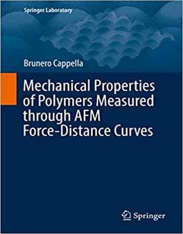 کتاب خواص مکانیکی پلیمرها اندازه گیری شده از طریق منحنی نیرو-فاصله AFM