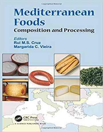 کتاب غذاهای مدیترانه ای: ترکیب و فراوری