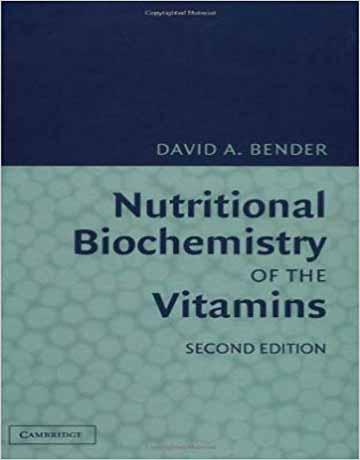 بیوشیمی تغذیه ای ویتامین ها ویرایش دوم