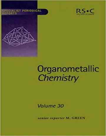 کتاب شیمی آلی فلزی جلد 30
