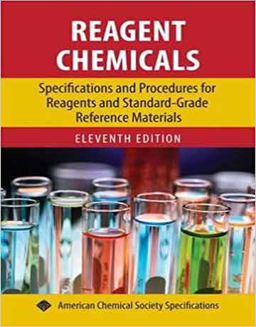 کتاب مواد شیمیایی واکنشگر ویرایش یازدهم ACS Reagent Chemicals 11th edition