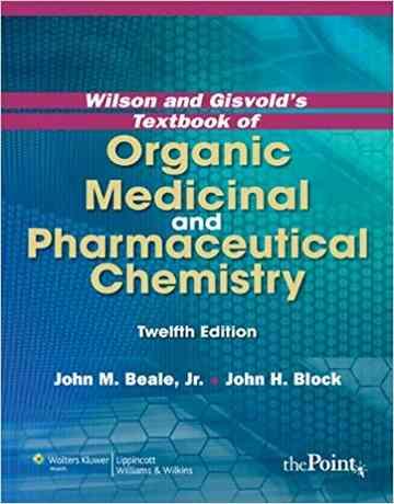کتاب شیمی دارویی و دارویی آلی ویلسون ویرایش 12 دوازدهم