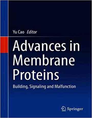 کتاب پیشرفت در پروتئین های غشایی