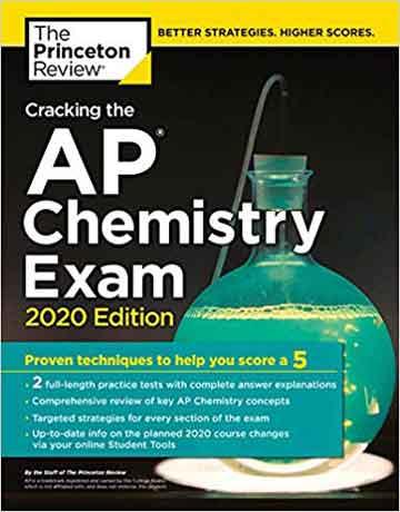 نمونه سوالات تستی المپیاد شیمی Cracking the AP Chemistry Exam 2020