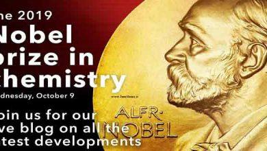 Photo of پوستر جایزه نوبل شیمی 2019