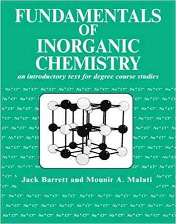 کتاب اصول و مبانی شیمی معدنی جی بارت