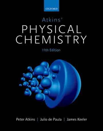 دانلود کتاب شیمی فیزیک اتکینز ویرایش یازدهم چاپ 2018
