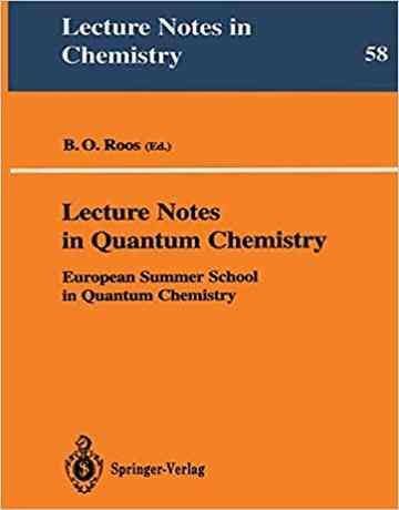 کتاب یادداشت های سخنرانی در شیمی کوانتوم ویرایش دوم