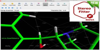 دانلود Mnova StereoFitter 1.1 نرم افزار آنالیز سه بعدی ساختارهای شیمیایی