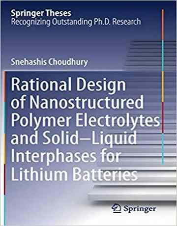 طراحی منطقی الکترولیت های پلیمری نانوساختار