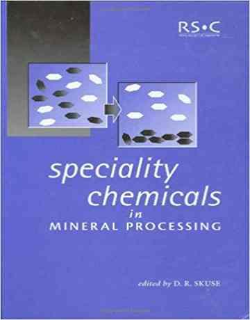 مواد شیمیایی ویژه در فراوری مواد معدنی