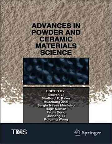 کتاب پیشرفت در علوم پودر و مواد سرامیکی 2020