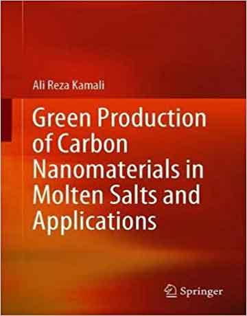 تولید سبز نانومواد کربنی در نمک های مذاب و کاربردها