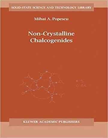 کتاب کالکوژنید های غیر کریستالی