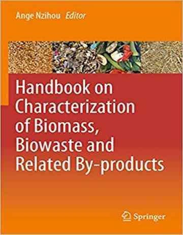 هندبوک تعیین مشخصات بیومس، زباله زیستی و محصولات مرتبط