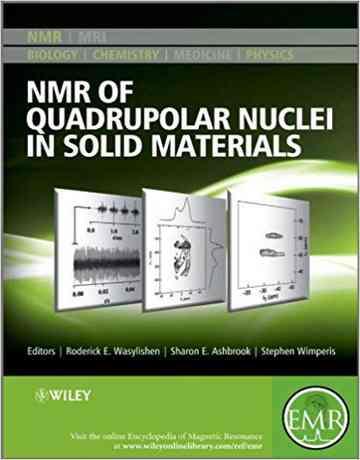 کتاب NMR هسته چهارقطبی در مواد جامد