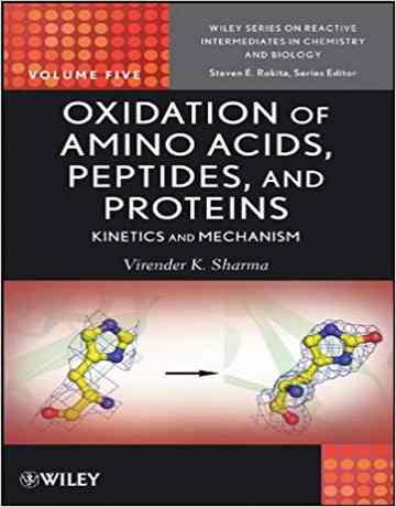 اکسیداسیون آمینو اسیدها، پپتیدها و پروتئین ها: سینتیک و مکانیسم