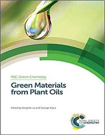 مواد سبز از روغن های گیاهی