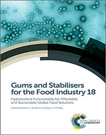 صمغ ها و تثبیت کننده ها برای صنایع غذایی جلد 18