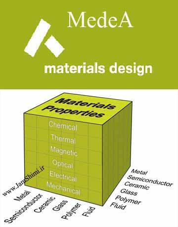 نرم افزار MedeA 3.1.2 طراحی مواد و شبیه سازی اتمی