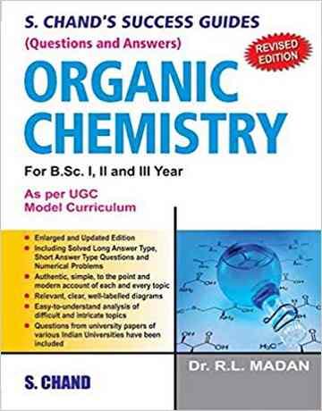کتاب راهنمای موفقیت در شیمی آلی S.Chand