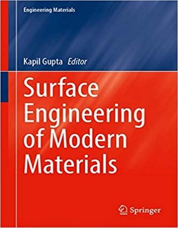 کتاب مهندسی سطح مواد مدرن