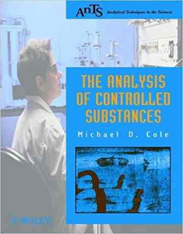 کتاب آنالیز مواد کنترل شده