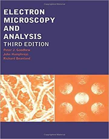 میکروسکوپ الکترونی و آنالیز ویرایش سوم