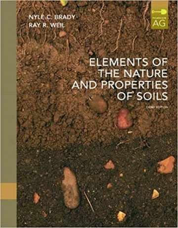 کتاب عناصر طبیعت و ویژگی های خاک ویرایش سوم