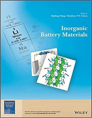 کتاب مواد باتری معدنی