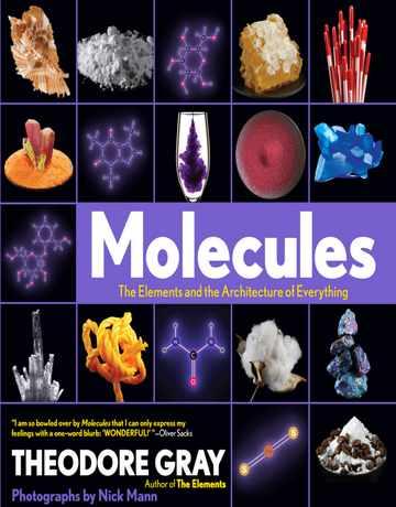کتاب مولکول ها: عناصر و معماری همه چیز