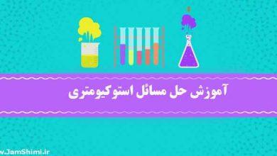 Photo of آموزش حل مسائل استوکیومتری در شیمی