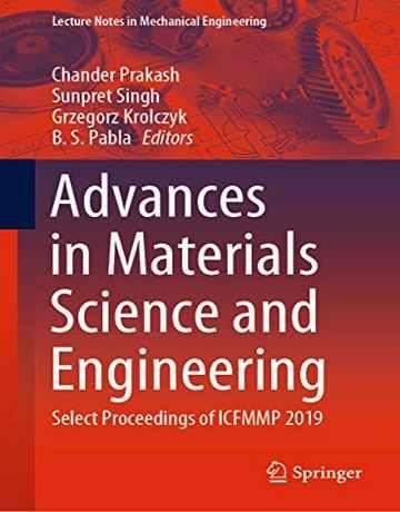 کتاب پیشرفت در علم و مهندسی مواد ICFMMP 2019