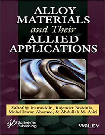 کتاب مواد آلیاژی و کاربردهای آن