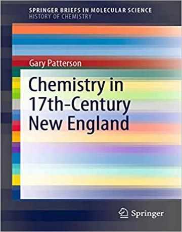 کتاب شیمی در قرن 17 انگلستان جدید چاپ 2020