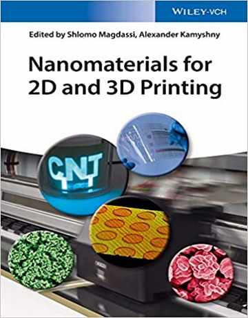 کتاب نانومواد برای چاپ دو بعدی 2D و 3D سه بعدی