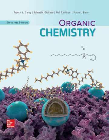 کتاب شیمی آلی کری ویرایش 11 یازدهم 2019