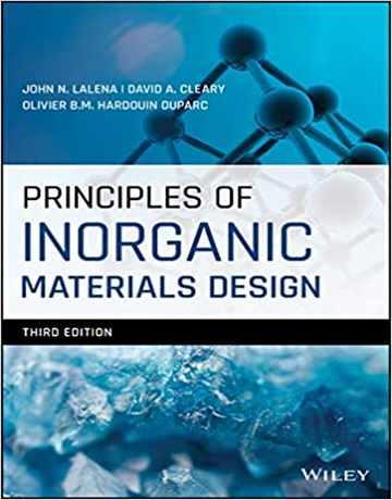 کتاب اصول طراحی مواد معدنی ویرایش سوم