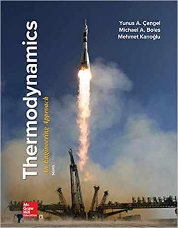کتاب ترمودینامیک با نگرش مهندسی سنجل ویرایش 9