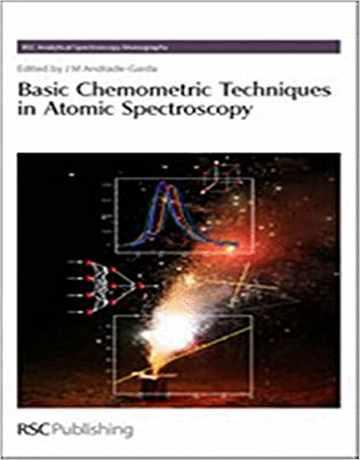 تکنیک های کمومتریکس پایه در طیف سنجی اتمی