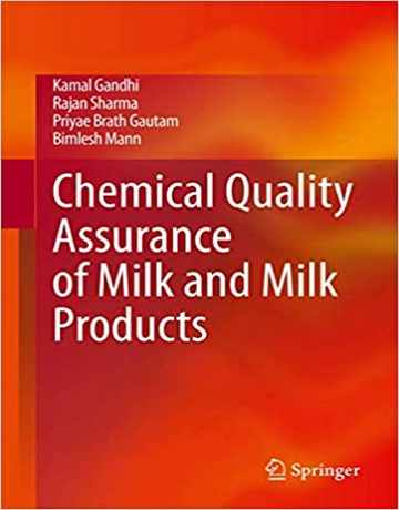 تضمین کیفیت شیمیایی شیر و محصولات شیر